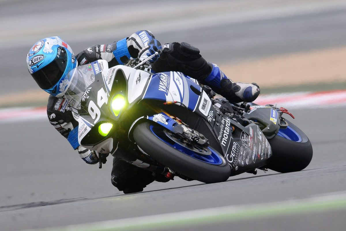 Motorcycle races are held in St. Petersburg.
