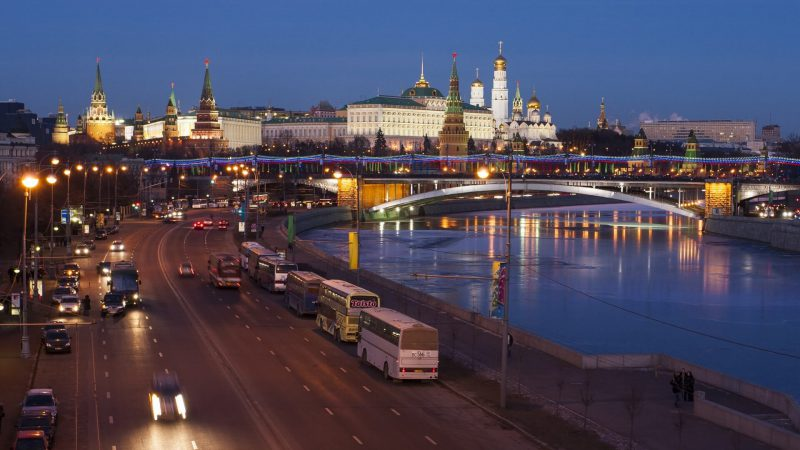 Today, a Jazz festival is being held in Moscow.
